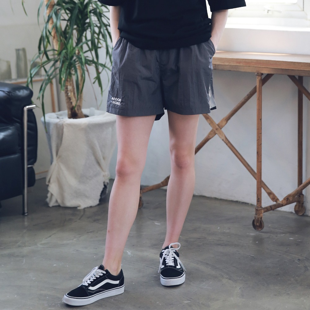 UNISEX SIDE SCOTCH TRACK SHORTS ASP192003-DG
