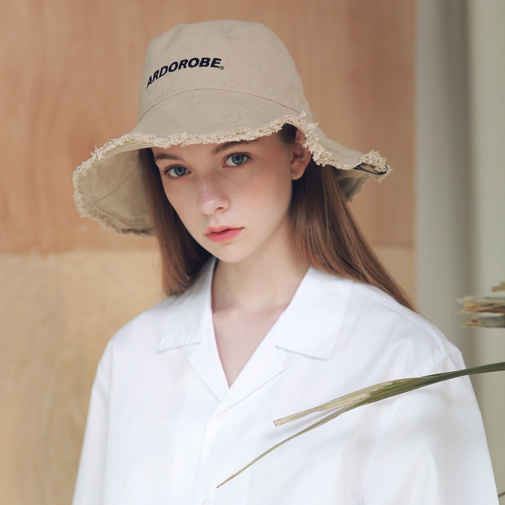 WASHING LOGO EMBROIDERY BUCKET HAT AAC192002-BG