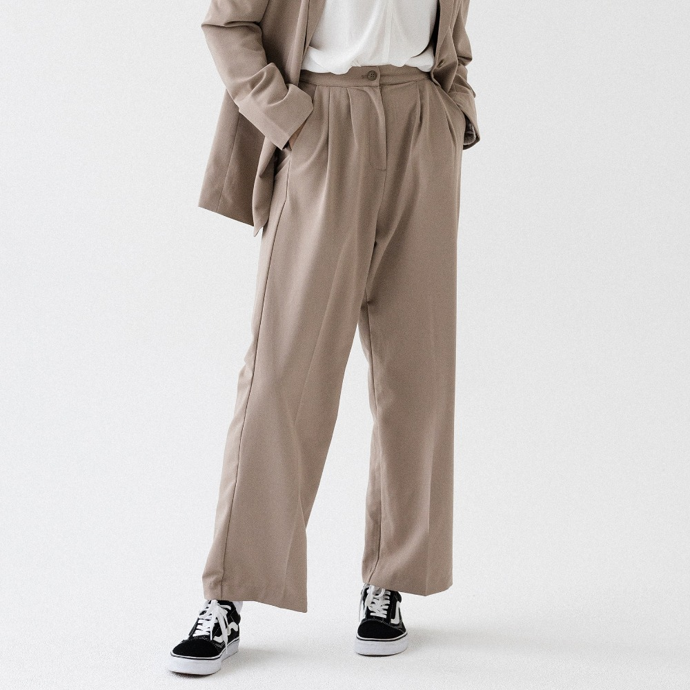 BANDING WIDE SLACKS ASL193001-BG