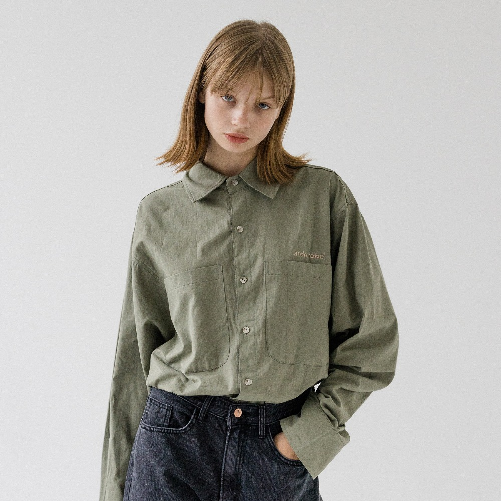 UNISEX DOUBLE POCKET BASIC SHIRT AST193001-KK