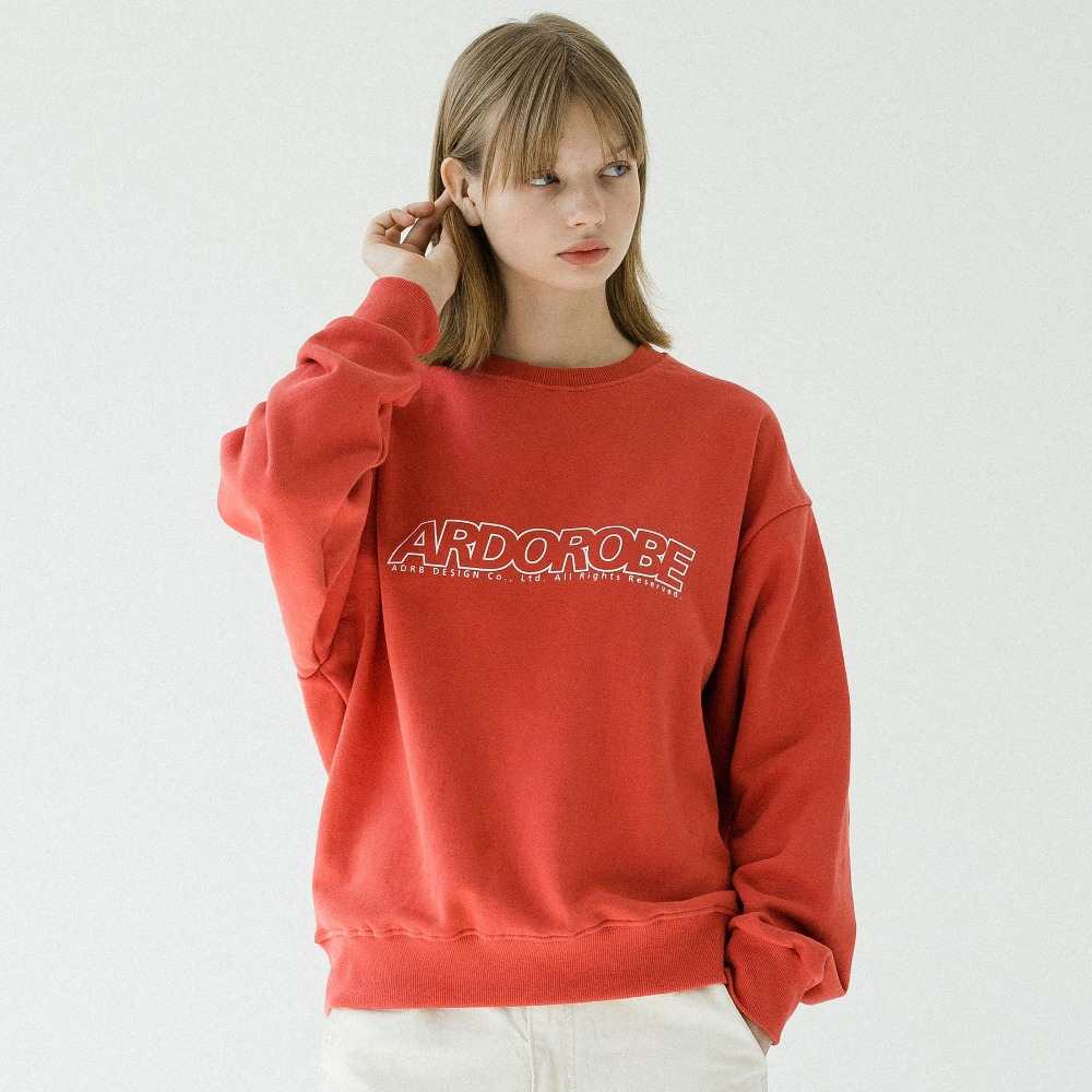 UNISEX LINEAR LOGO CREWNECK ACR193001-CO